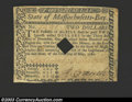 Colonial Notes:Massachusetts, May 5, 1780, $2, Massachusetts, MA-279, VF. This cancelled ...