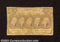 Fractional Currency:First Issue, First Issue 25c, Fr-1281, Good-VG. This is the straight edge ...