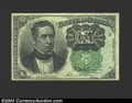 Fractional Currency:Fifth Issue, Fifth Issue 10c, Fr-1264, Gem CU. This scarcer green seal ...