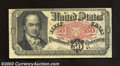 "Fractional Currency:Fifth Issue, Fifth Issue 50c, Fr-1381, VF. This is the always popular ""Bob ..."