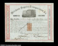 Stocks and Bonds:Certificates with Significant Autographs, James Fargo - Merchants Despatch Company (New York)
