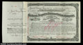 Stocks and Bonds:Certificates with Significant Autographs, James C. Fargo - Merchants Despatch Transportation Company ...