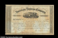 Stocks and Bonds:Certificates with Significant Autographs, William Fargo - John Butterfield - Alex Holland American ...