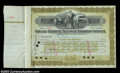 Stocks and Bonds:Certificates with Significant Autographs, Edward H. Harriman - Chicago Terminal Transfer Railroad ...