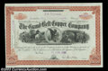 Stocks and Bonds:Certificates with Significant Autographs, George McClellan - Grand Belt Copper Company (New York)