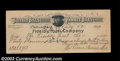 Stocks and Bonds:Certificates with Significant Autographs, Pawnee Bill - Gordon W. Lillie - Buffalo Bill's Wild West ...
