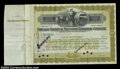 Stocks and Bonds:Certificates with Significant Autographs, John D. Rockefeller - Chicago Terminal Transfer Railroad ...