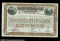 Stocks and Bonds:Certificates with Significant Autographs, Andrew Saks - Choctaw, Oklahoma & Gulf Railroad Company (...