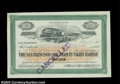 Stocks and Bonds:Certificates with Significant Autographs, Claus Spreckels - San Francisco and San Joaquin Valley ...