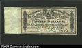 Confederate Notes:Group Lots, 1864 $500 CSA Bond Coupon XF. $15 Interest Payable Jan. 1, ...