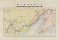 Antiques:Posters & Prints, Three Vintage Chinese Railway Maps. An important group of mapsshowing the great railroads that influenced the course of Far...