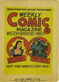 Golden Age (1938-1955):Miscellaneous, Weekly Comic Magazine 1st version (Fox, 1940) Condition: VF....