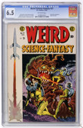 Golden Age (1938-1955):Science Fiction, Weird Science-Fantasy #27 (EC, 1955) CGC FN+ 6.5 Off-whitepages....
