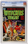 Golden Age (1938-1955):Horror, Witches Tales #4 File Copy (Harvey, 1951) CGC VF/NM 9.0 Cream tooff-white pages....