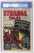 Silver Age (1956-1969):Science Fiction, Strange Tales #95 (Marvel, 1962) CGC VF+ 8.5 Off-white pages....