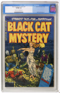 Golden Age (1938-1955):Horror, Black Cat Mystery #37 (Harvey, 1952) CGC VF/NM 9.0 Light tan tooff-white pages....