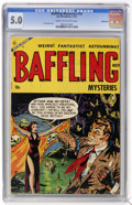 Golden Age (1938-1955):Horror, Baffling Mysteries #18 (Ace, 1953) CGC VG/FN 5.0 Cream to off-whitepages....