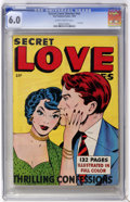 Golden Age (1938-1955):Romance, Fox Giants - Secret Love Stories (Fox Features Syndicate, 1949) CGCFN 6.0 Slightly brittle pages....
