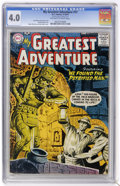 Silver Age (1956-1969):Adventure, My Greatest Adventure #17 (DC, 1957) CGC VG 4.0 Off-white to white pages....