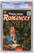 Golden Age (1938-1955):Romance, Teen-Age Romances #43 (St. John, 1955) CGC GD/VG 3.0 Cream tooff-white pages....