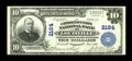 National Bank Notes:Kentucky, Louisville, KY - $10 1902 Plain Back Fr. 632 The Citizens Union NBCh. # 2164. From our 2006 FUN sale of the Bill Gale C...