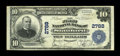 National Bank Notes:Kentucky, Stanford, KY - $10 1902 Plain Back Fr. 624 The First NB Ch. # 2788.Last appearing in our 2006 Central Sale sale, and de...