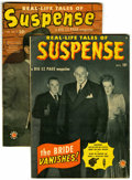 Golden Age (1938-1955):Horror, Suspense #1 and 2 Group (Atlas, 1949-50) Condition: Average VG+....(Total: 2)