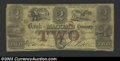Obsoletes By State:Michigan, 1853 $2 Bank of Macomb County, Mt. Clemens, MI, VG-Fine. ...