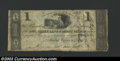 Obsoletes By State:Ohio, 1816 $1 Owl Creek Bank of Mount Vernon, OH, VG-Fine. ...