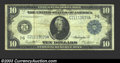 Large Size:Federal Reserve Notes, 1914 $10 Federal Reserve Note, Fr-931a, Fine+. The paper for ...