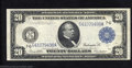 Large Size:Federal Reserve Notes, 1914 $20 Federal Reserve Note, Fr-991a, Very Fine-Extremely ...