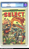Golden Age (1938-1955):Superhero, All Select Comics #5 (Timely, 1944) CGC NM 9.4 Cream to off-white pages. Alex Schomburg cover. Last Sub-Mariner. Highest gra...