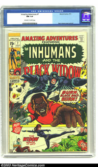 Amazing Adventures #7 (Marvel, 1971) CGC NM 9.4 Off-white to white pages. Neal Adams cover and art. Overstreet 2003 NM 9...