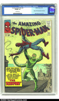 Silver Age (1956-1969):Superhero, Amazing Spider-Man #20 (Marvel, 1965) CGC VF/NM 9.0 Off-whitepages. Origin and first appearance of the Scorpion. Steve Ditk...