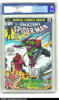 Bronze Age (1970-1979):Superhero, Amazing Spider-Man #122 (Marvel, 1973) CGC NM 9.4 Off-white pages.In the issue prior to this one Gwen Stacy was killed by t...