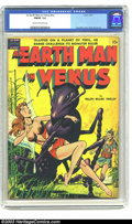 Golden Age (1938-1955):Science Fiction, An Earth Man on Venus nn (Avon, 1951) CGC FN/VF 7.0 Cream to tooff-white pages. Sexy cover by Gene Fawcette. Wally Wood art...