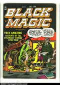 Golden Age (1938-1955):Horror, Black Magic V2#2 (Prize, 1951) Condition: FN/VF. Jack Kirby coverand art. Mort Meskin art. Overstreet 2003 FN 6.0 value = $...