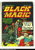 Golden Age (1938-1955):Horror, Black Magic Group (Prize, 1952) Condition: Average VG. Issues#13-19. Jack Kirby covers. Kirby, Mort Meskin, Joe Simon, and ...(Total: 7 Comic Books Item)
