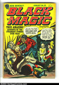 Golden Age (1938-1955):Horror, Black Magic Group (Prize, 1953-1954) Condition: Average VG-. Thislot consists of #20-26, 29-33. All have Joe Simon and Jack...(Total: 12 Item)
