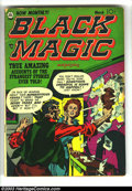 Golden Age (1938-1955):Horror, Black Magic Group (Prize, 1952) Condition: Average GD/VG. Issues#V2#4 and V2#5. Jack Kirby covers. Kirby, Meskin, and Rouss...(Total: 2 Comic Books Item)