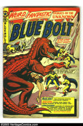 Golden Age (1938-1955):Science Fiction, Blue Bolt #107 (Star Publications, 1950) Condition: VG+. L. B. Colescience fiction cover art. Blue Bolt by Joe Simon and Ja...