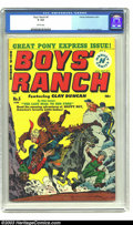 Golden Age (1938-1955):Adventure, Boys' Ranch #5 (Harvey, 1951) CGC GD 2.0 Brittle pages. Simon and Kirby cover and art. Only one CGC-certified copy has earne...