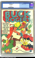 Golden Age (1938-1955):Science Fiction, Buck Rogers #3 (Eastern) CGC VF+ 8.5 Off-white pages. To date CGChas only graded eight unrestored copies of this issue. Thi...