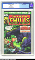 Bronze Age (1970-1979):Horror, Chamber of Chills #18 (Marvel, 1975) CGC NM 9.4 Off-white to whitepages. Kirby art. Overstreet NM 9.4 value = $12. ...