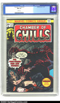 Bronze Age (1970-1979):Horror, Chamber of Chills #19 (Marvel, 1975) CGC NM 9.4 White pages.Highest-graded CGC copy to date. Overstreet 2003 NM 9.4 value =...