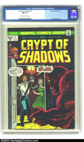 Bronze Age (1970-1979):Horror, Crypt of Shadows #4 (Marvel, 1973) CGC NM 9.4 Off-white to whitepages. John Romita cover. Tied with one other for the highe...