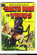 "Golden Age (1938-1955):Science Fiction, An Earth Man on Venus nn (Avon, 1951) Condition: Apparent VG.Fawcette cover, Wood art (26 pages!). Gerber ""scarce."" Appears..."