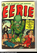 Golden Age (1938-1955):Horror, Eerie #8 (Avon, 1952) Condition: VG. Lazarus bondage cover.Kinstler art. Overstreet 2003 VG 4.0 value = $64. ...