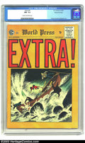 Golden Age (1938-1955):Crime, Extra! #4 (EC, 1955) CGC NM- 9.2 Cream to off-white pages. Johnny Craig cover. Craig, Reed Crandall, and John Severin art. O...