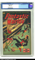 Golden Age (1938-1955):Science Fiction, Fantastic Worlds #7 (Standard, 1953) CGC FN/VF 7.0 Cream tooff-white pages. Classic science-fiction/horror genre hybrid com...